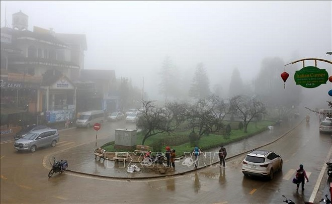 Dự báo thời tiết, Du bao thoi tiet, thời tiết Hà Nội, thoi tiet, mưa rét, sương mù
