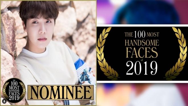 J-Hope BTS được đề cử cho danh sách 100 khuôn mặt đẹp trai nhất thế giới 2019