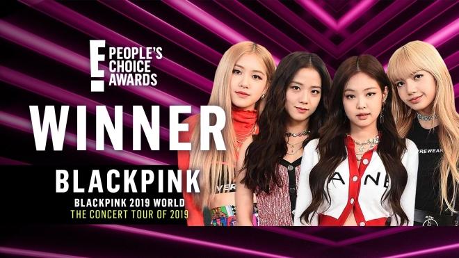 Blackpink, 3 lần đánh bại BTS, E! People's Choice Awards 2019, Blackpink chiến thắng, BTS, Blackpink 2019, BTS 2019