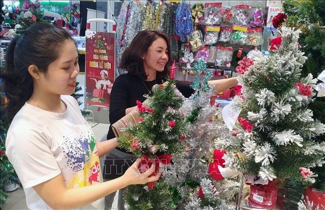 Giáng sinh 2019, mùa giáng sinh, đồ giáng sinh 2019 sản xuất trong nước