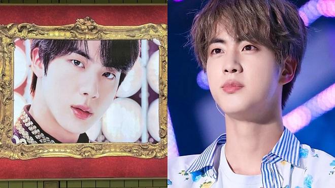 Visual 'đỉnh cao', Jin BTS biến ga tàu thành bảo tàng nghệ thuật