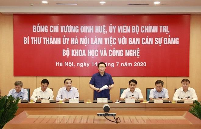 Vương Đình Huệ, Hà Nội, trung tâm khoa học và công nghệ, Đông Nam Á