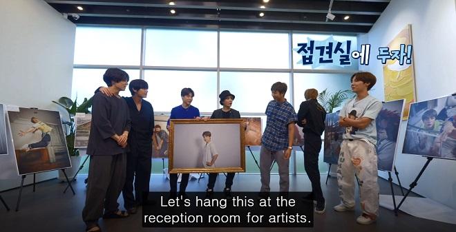 BTS, ARMY, Chế ảnh về Jin, Không ai hiểu ARMY bằng Jin BTS, BTS Jin, tập 106 của Run BTS, anh cả BTS, ARMY chế ảnh Jin, Kpop