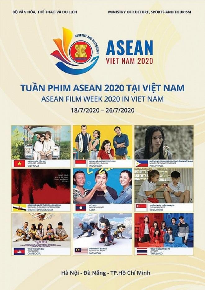 tuần phim Asean 2020, hạnh phúc của mẹ, phim truyện, khai mạc