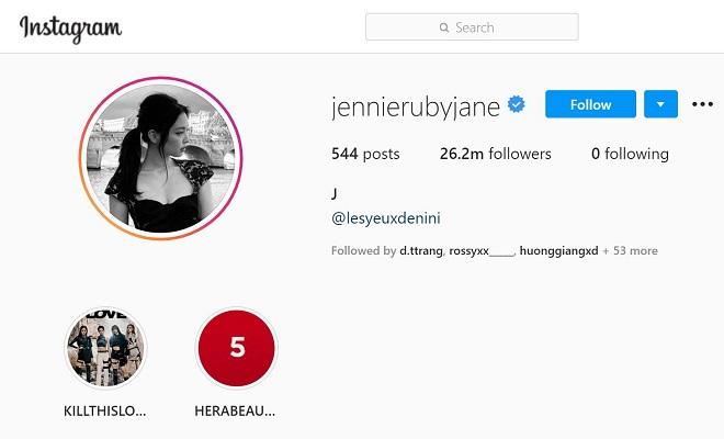 Jennie, Blackpink, phá kỷ lục Instagram, G-Dragon, Bigbang, Teddy Park