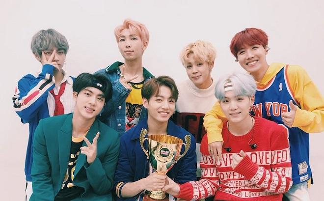 BTS, kỷ lục mới, nhóm nhạc nam Hàn đầu tiên, thành tích khủng, BTS tin tức, DNA
