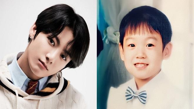 ARMY 'phát sốt' với ảnh hồi bé của Jungkook BTS