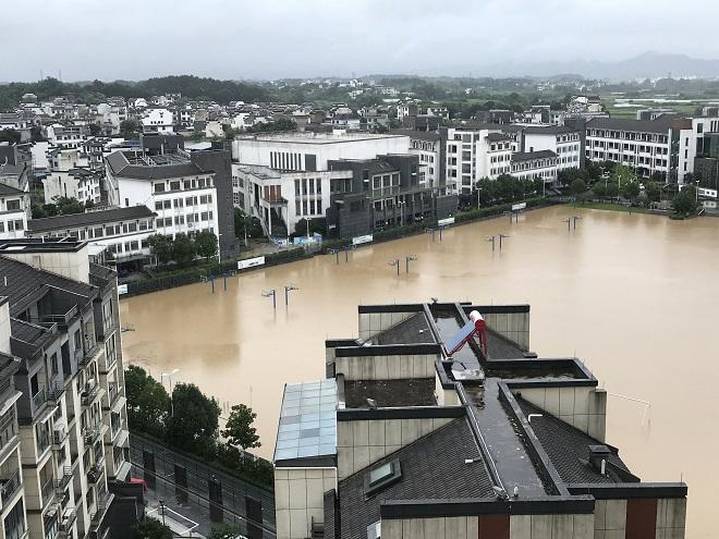 Trung Quốc, Lũ lụt, nâng mức cảnh báo, mưa dông