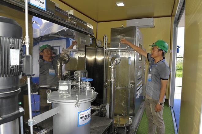 Hà Nội, xử lý nước thải, Việt Nam, công nghệ, Nhật Bản, Hàn Quốc
