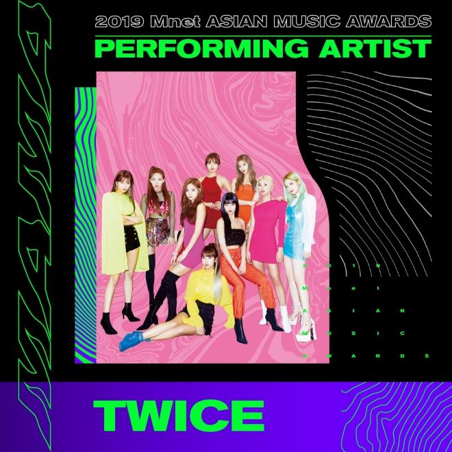 MAMA 2019, BTS, Blackpink, Twice, Got7, mamamoo, seventeen, monsta x, iz*one, Chung ha, sao kpop