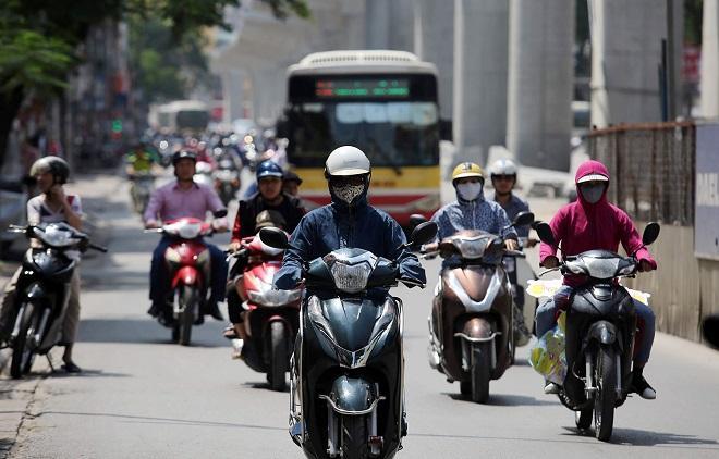 Dự báo thời tiết, Hà Nội, thời tiết ngày mai, nắng nóng, mưa dông