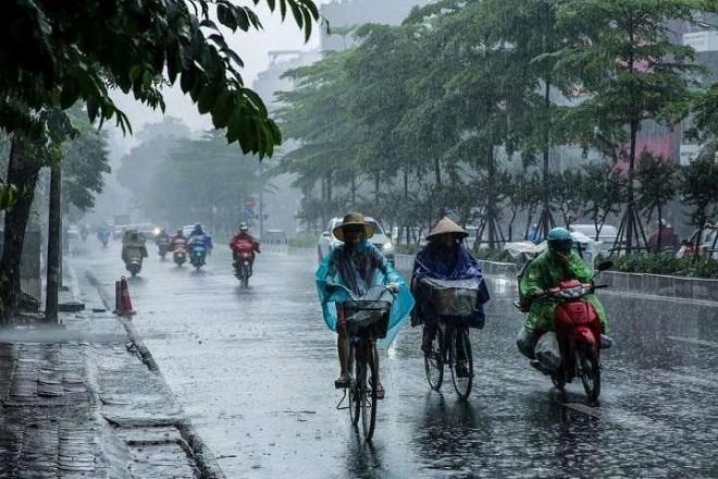 Dự báo thời tiết, mưa to, thời tiết nguy hiểm, thời tiết hôm nay