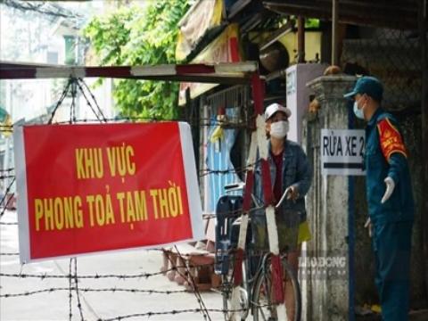 TP HCM phong tỏa một số khu vực tại quận Bình Tân