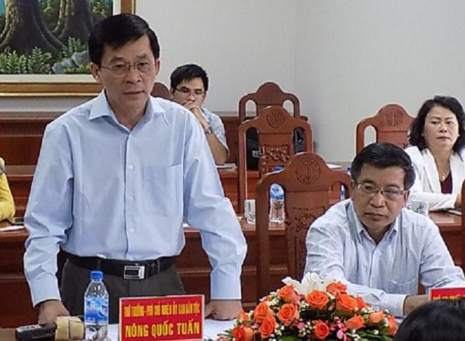 Nông Quốc Tuấn, Tái đắc cử, Bí thư Đảng ủy cơ quan Ủy ban Dân tộc