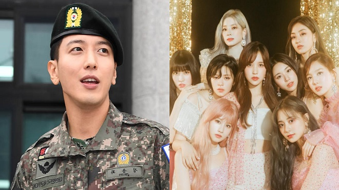 Jung Yonghwa CNBLUE: 'Mọi người trong quân đội đều thức dậy với Twice'