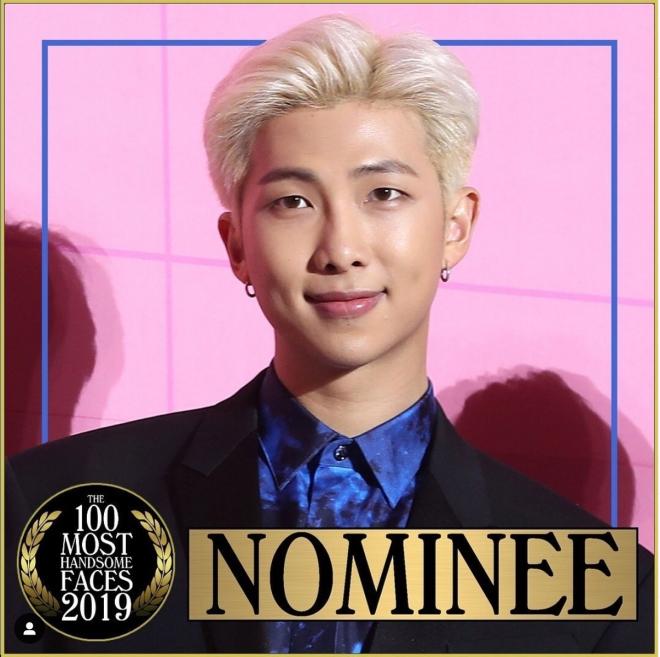 BTS, RM BTS 100 khuôn mặt đẹp trai nhất thế giới 2019, Trưởng nhóm BTS, BTS RM, bts 2019, bts jungkook, bts jimin, bts jin, bts suga, bts j-hope, bts thành viên, bts idol