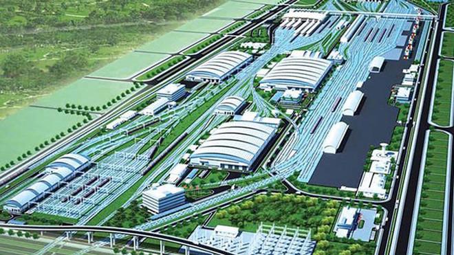 bộ giao thông vận tải, Hà Nội, đường sắt ngọc hồi yên viên, đường sắt trên cao, đường sắt số 1