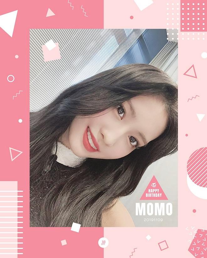 Momo, Twice, sinh nhật phá kỷ lục, Twice momo, Twice Jeongyeon, Twice thành viên
