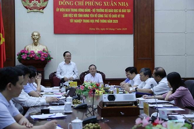 Thi THPT quốc gia 2020, thi THPT 2020, Phùng Xuân Nhạ