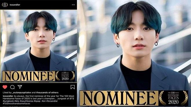 BTS, 100 khuôn mặt đẹp trai nhất thế giới 2020, BTS tin tức, V, Jungkook, Jimin