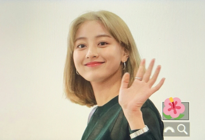 Jihyo, Jihyo Twice, lần đầu nhuộm tóc vàng, ONCE chết ngất, Twice, Twice Japan