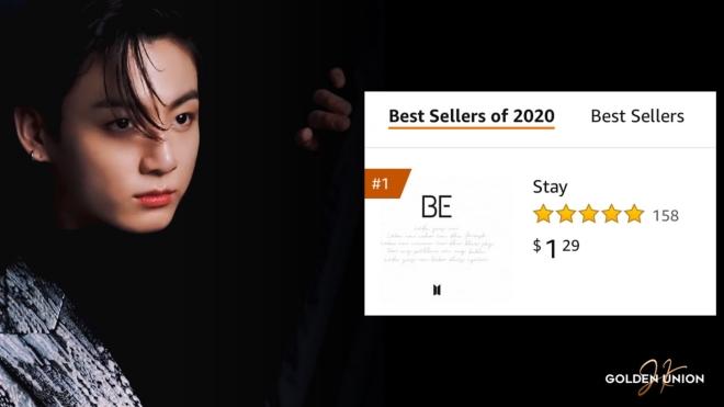 BTS 'thống lĩnh' BXH ca khúc bán chạy nhất năm 2020 của Amazon