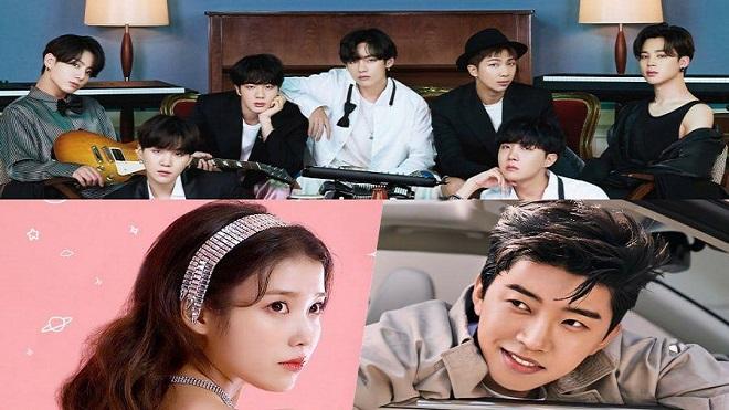 BXH Ca sĩ tháng 2: BTS dẫn đầu, IU và Kang Daniel gây kinh ngạc