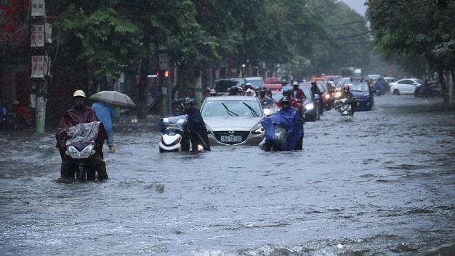 Bắc Bộ còn mưa to, đề phòng thời tiết nguy hiểm