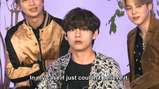Cảm nhận BTS khi giành đề cử Grammy: J-Hope khóc, V lý giải mặt 'đơ'