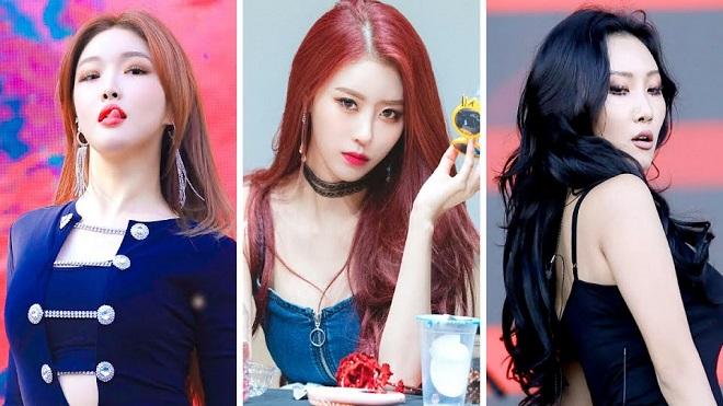 6 nữ idol Kpop quyến rũ nhất trên sân khấu: Blackpink, Mamamoo, Lovelyz