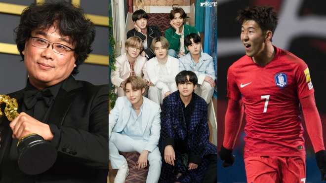 BTS, BTS tin tức, Quốc ca Hàn Quốc, KBS, Kpop, Bong Joon Ho, Son Heung Min