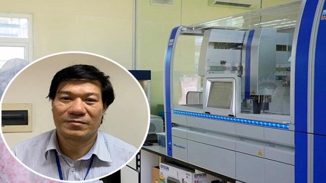Truy tố, Nguyễn Nhật Cảm, Giám đốc, Trung tâm CDC Hà Nội, thiết bị y tế