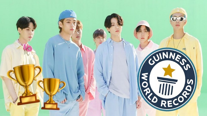 'Dynamite' của BTS phá thêm 2 kỷ lục Guinness thế giới