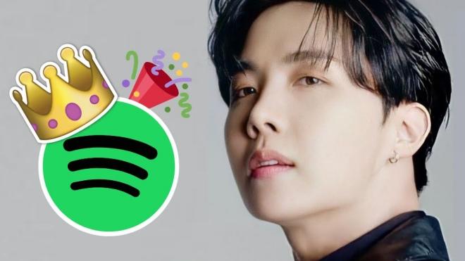 J-Hope BTS đứng đầu danh sách nghệ sĩ K-pop trên Spotify