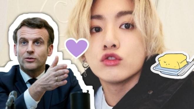 Tổng thống Pháp kêu gọi cày view 'Butter' cho BTS