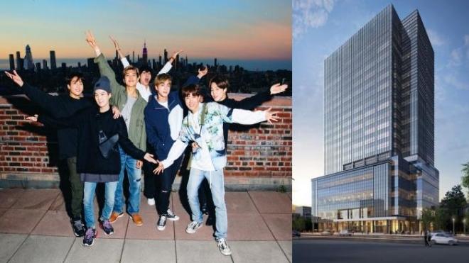 Cộng đồng mạng choáng ngợp với 'nhà mới' của BTS, TXT và Seventeen