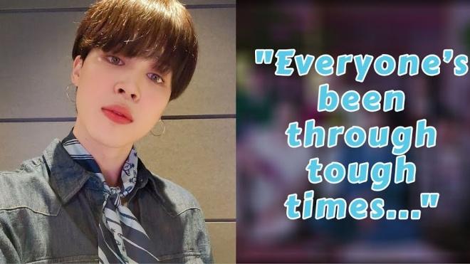 Jimin BTS chia sẻ với fan động lực để vượt khó khăn do dịch Covid-19