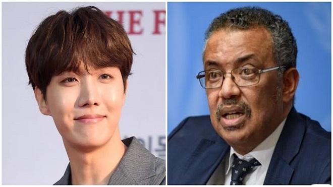 Tổng giám đốc WHO cảm ơn J-Hope BTS vì 'vui chơi không quên nhiệm vụ'