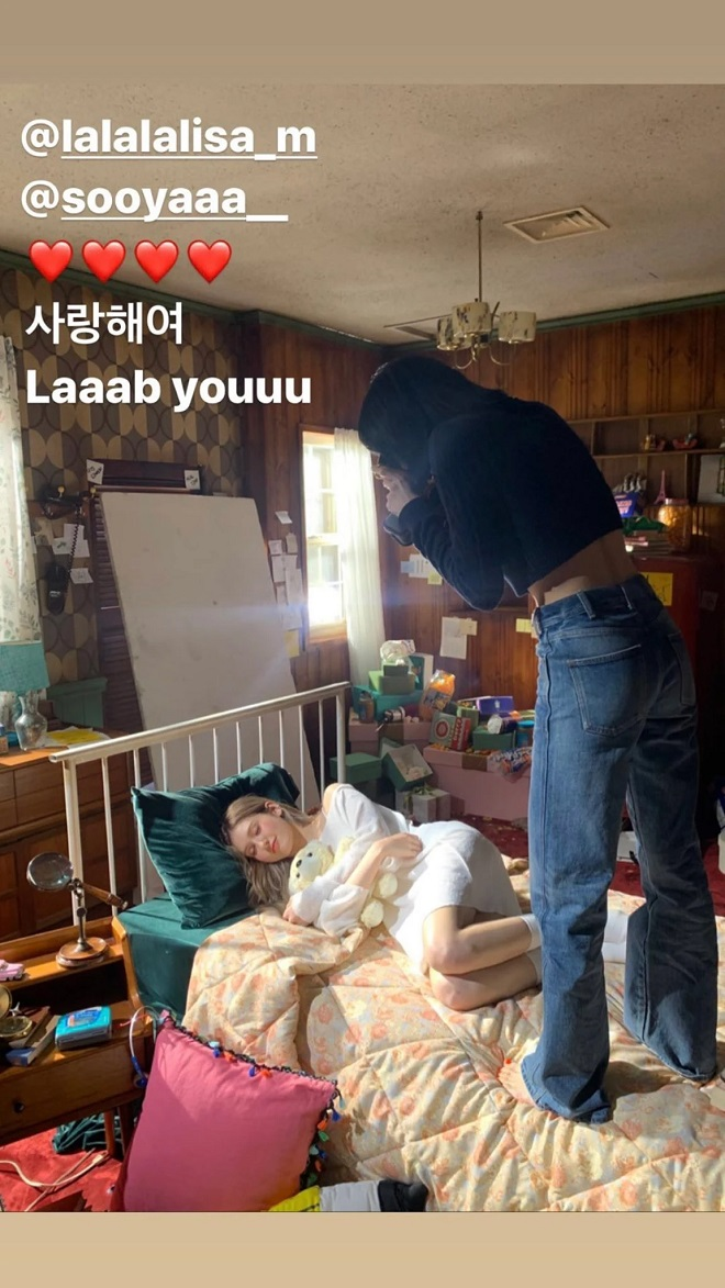 Blackpink, Lisa, Lisa Blackpink, Blackpink tin tức, Somi, Jeon Somi, YG Entertainment, chị em, Kpop, idol, thiên thần lai