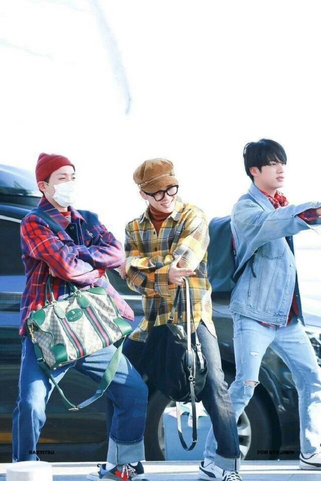 BTS, yêu thích phụ kiện của hãng thời trang nào, V BTS, Suga BTS, Jimin BTS, J-Hope BTS, RM BTS, Jungkook BTS