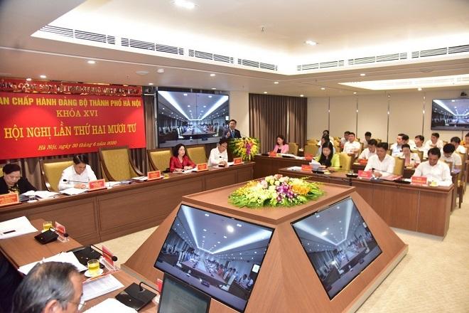 Nghị quyết Hội nghị lần thứ 24, Vương Đình Huệ, 4 nội dung quan trọng, Nguyễn Đức Chung, Nguyễn Doãn Toản