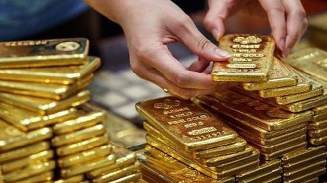 Giá vàng giảm mạnh sáng đầu tuần