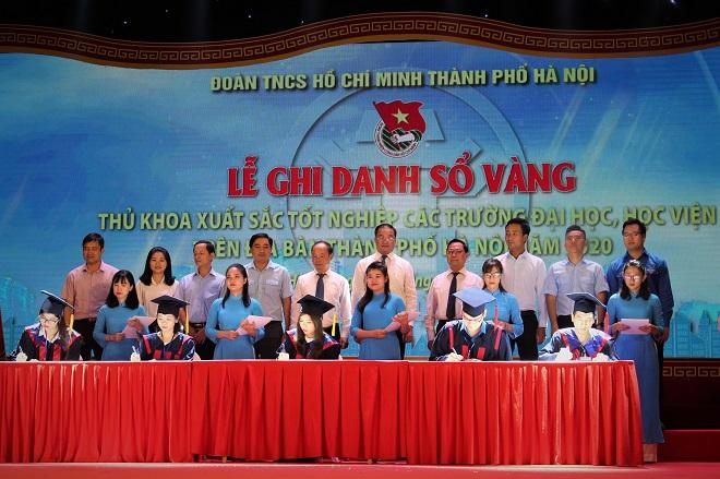 Hà Nội, Ghi danh sổ vàng, 88 thủ khoa xuất sắc, năm 2020, Đại học, Học viện
