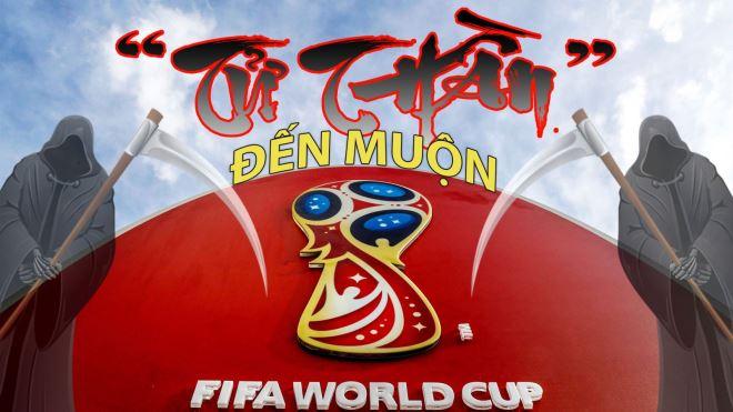 VCK World Cup 2018: 'Tử thần' đến muộn!