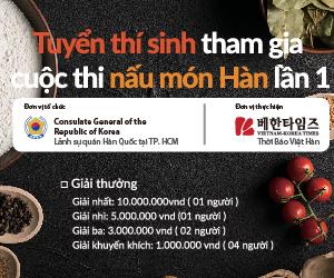 cuộc thi nấu món Hàn lần 1