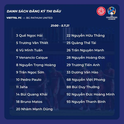 VTC3, FPT Play, Link trực tiếp Viettel vs BG Pathum, VTV6, trực tiếp bóng đá Việt Nam, Trực tiếp Cúp C1 châu Á, Trực tiếp bóng đá AFC Champions League, Viettel vs Pathum