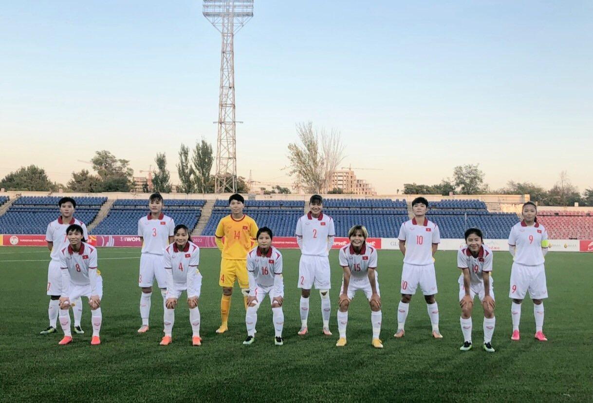 bóng đá Việt Nam, tuyển nữ Việt Nam, HLV Mai Đức Chung, đt nữ Việt Nam, lịch thi đấu vòng loại bóng đá nữ châu Á, Việt Nam vs Tajikistan, VFF, bóng đá nữ châu Á