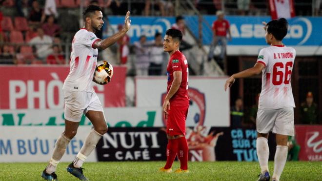 Chuyển nhượng V-League:Bình Định thử việc ngoại binh người Brazil