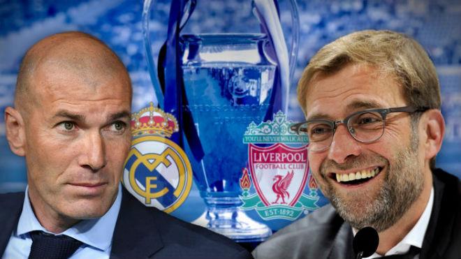 Klopp: 'Liverpool khác biệt so với các đối thủ trước đó của Real'. Zidane: 'Cơ hội của hai đội là như nhau'