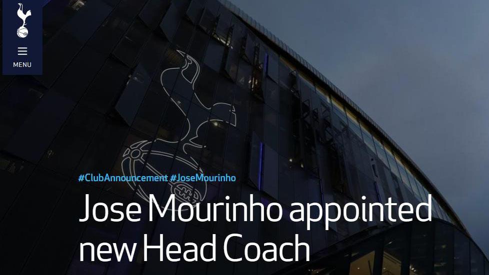Mourinho, Mourinho dẫn dắt Tottenham, Pochettino bị sa thải, bong da Anh, chuyen nhuong bong da Anh, tin tuc bong da, Tottenham, lịch thi đấu bóng đá hôm nay